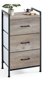 6 Drawer Dresser Nightstand Rustic Towe Living Room  Bedroom Hallway