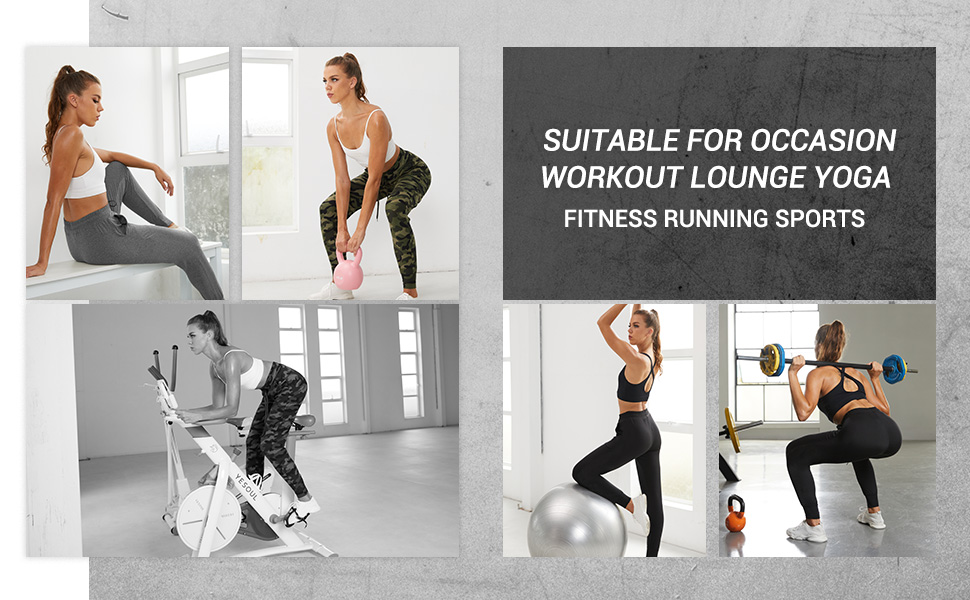 2 Pack Sweatpants for Women-4