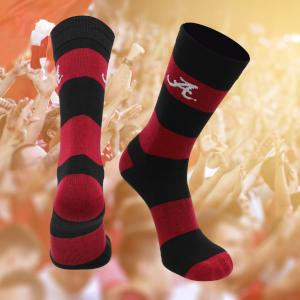 Alabama Crimson Roll Tide football socks gift TCK