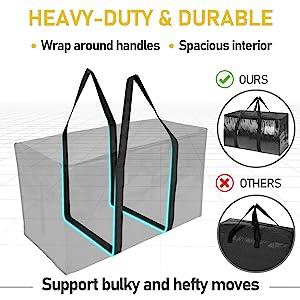heavy duty moving bag