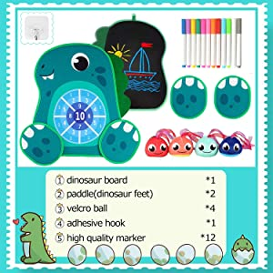 dart board for kids package included