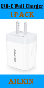 pd usb c wall charger