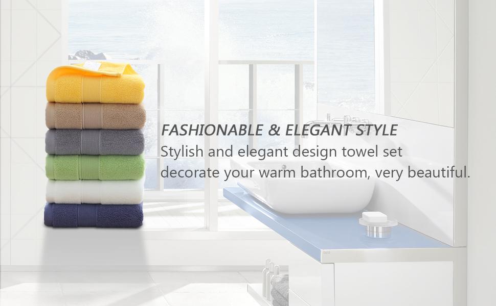 beautiful hand towels