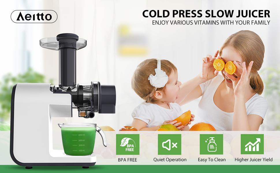 cold pressed masticating juicer