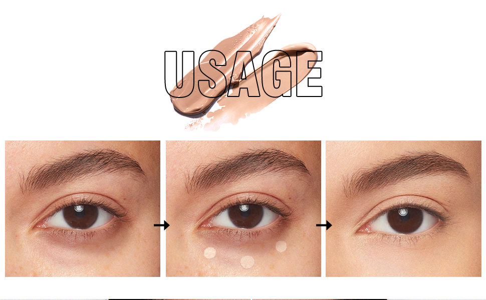 Full Coverage Concealer Stick and Liquid Concealer Face Makeup Dual Headed Corrector Contour