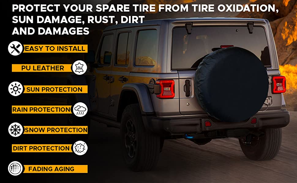 Features of EcoNour Spare Tire Cover