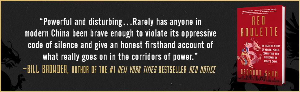 'Powerful and disturbing' - Bill Browder, author of New York Times bestseller Red Notice