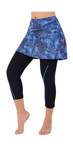 women skirted leggings