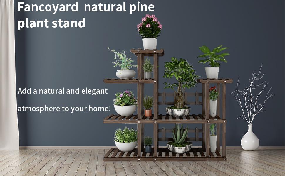 FancoYard Plant Shelf