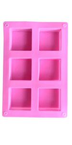 Perfect square soap mold silicone