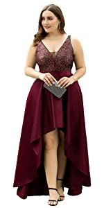 Ever Pretty Formal Sequin Evening Dresses Plus Size Wedding Guest Dress Wedding Party Dress Mother