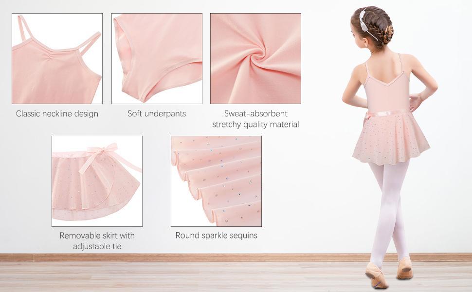 Girls ballet costumes Ballet dress Outfit ballerina ballet leotards ballerina Outfits skirt