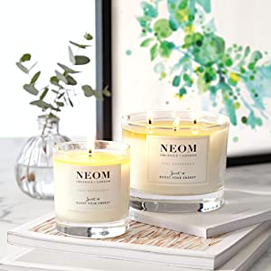 NEOM Scent to boost your energy candles