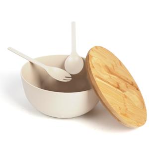 bamboo salad bowls