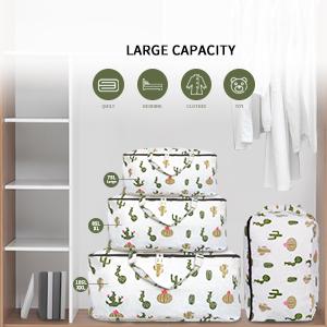 capacity clothes storage bag,blanket storage large
