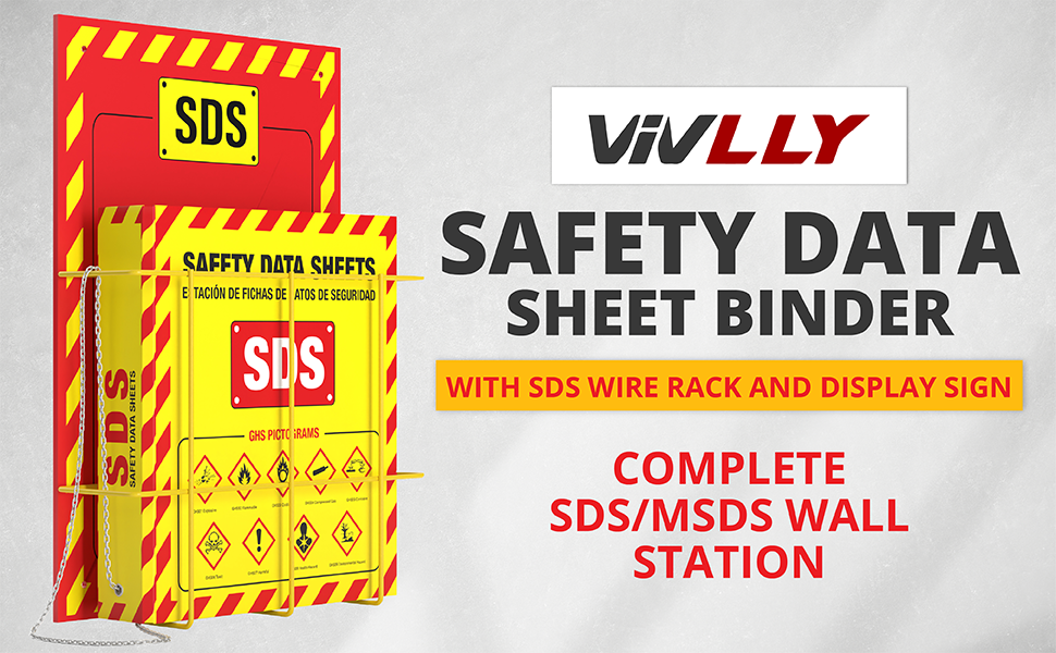 SDS MSDS Wall Station