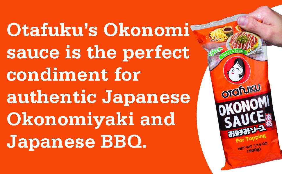 Okonomi sauce is the perfect condiment for authetic Japanese Okonomiyaki amp;amp; Japanese BBQ