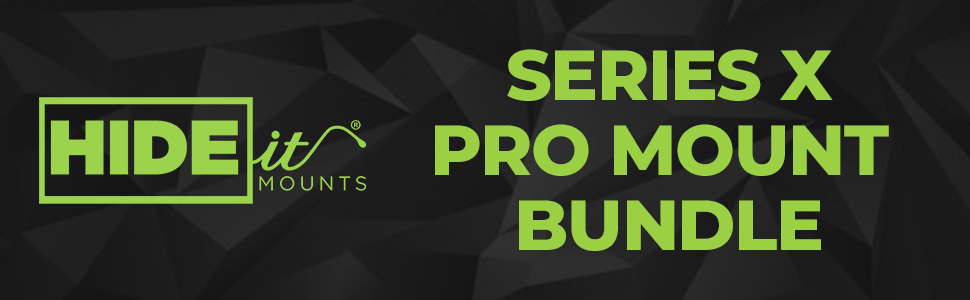 HIDEit Mounts Xbox Series X Wall Mount Pro Bundle