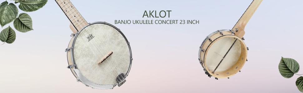 aklot Banjo ukulele