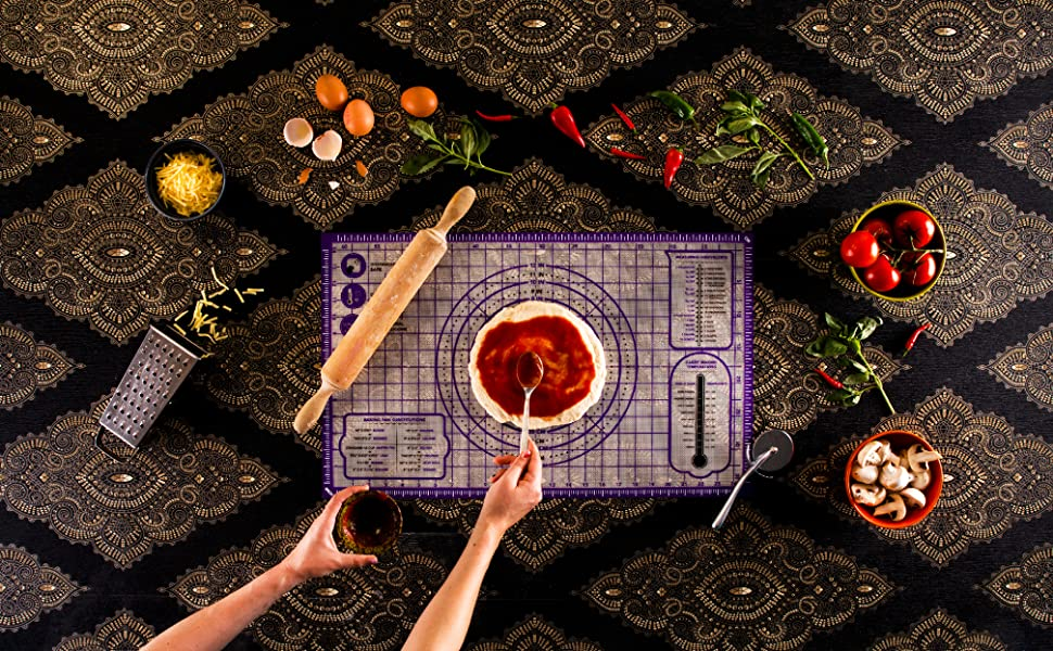 Banner for the large pastry mat
