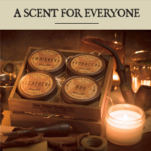 candle candles scented decor tobacco home aromatherapy four pack point soy jar clearance beach cedar