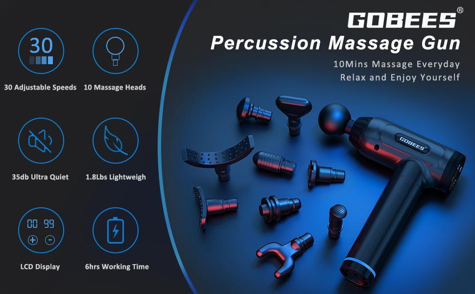 massage gun deep tissue for athletes