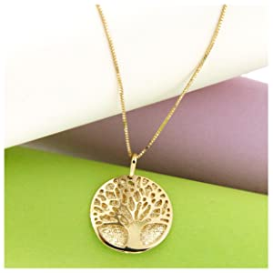 14k gold tree of life