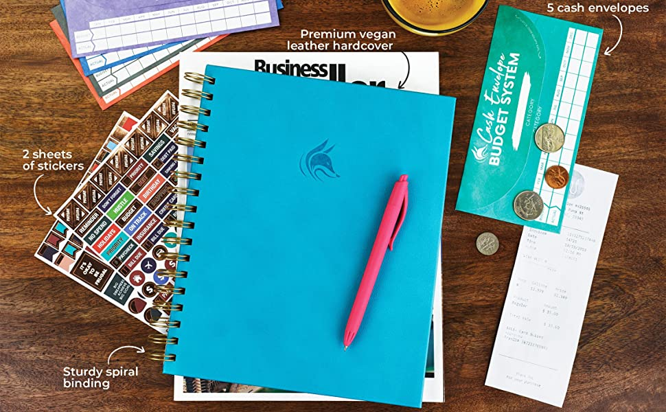 Clever Fox Budget Planner Coiled