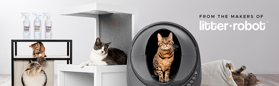 cat litter box, litterbox, cat box odor eliminator, garbage can holders for outside