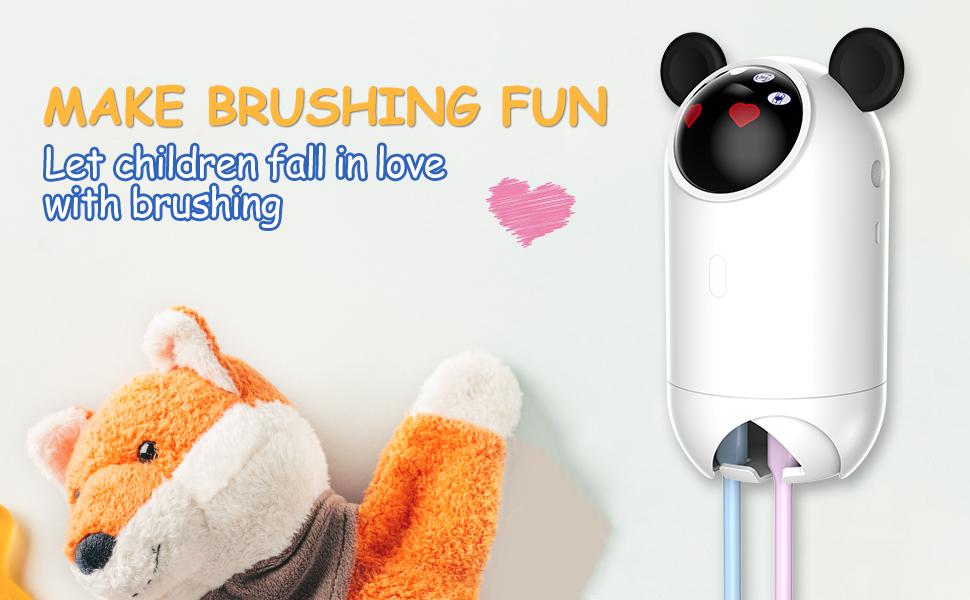 Toothbrush Cleaner Kids Brush Holder