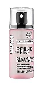 Prime amp;amp; Fine Dewy Glow Fixing Spray