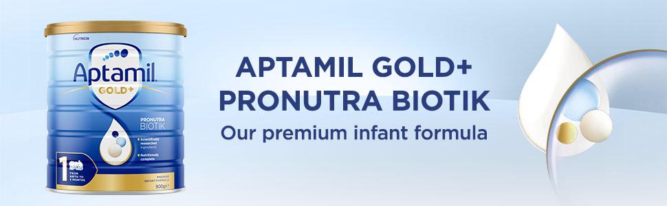 Aptamil Gold+ Pronutra Biotik - Our premium infant formula