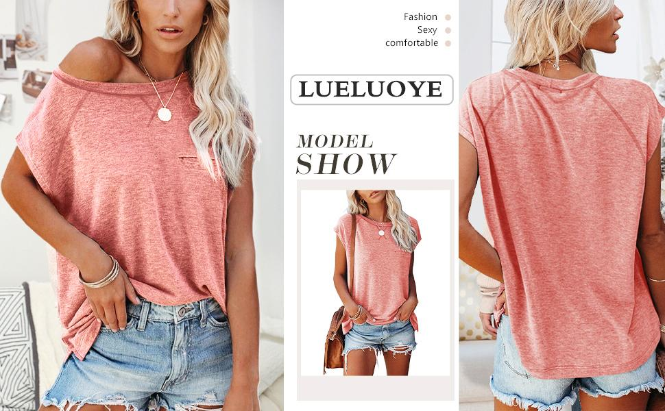 women round neck shirt short sleeve solid color tee tshirts