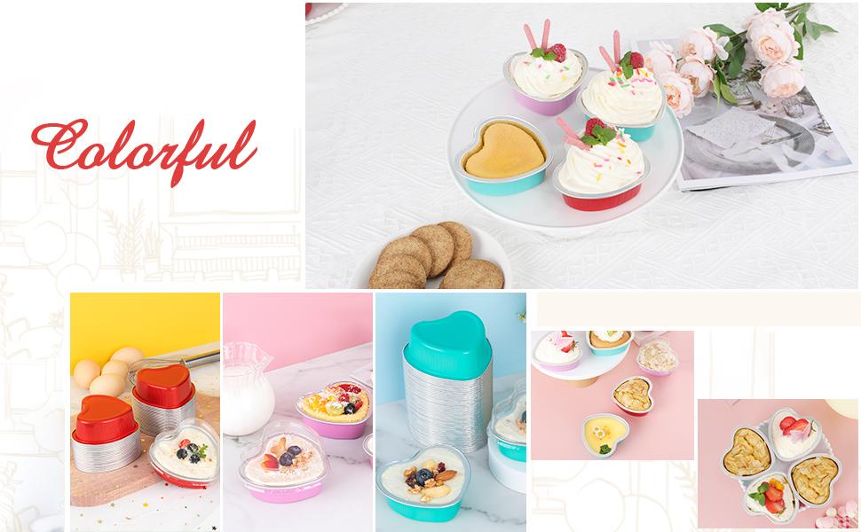 colorful cupcake holder