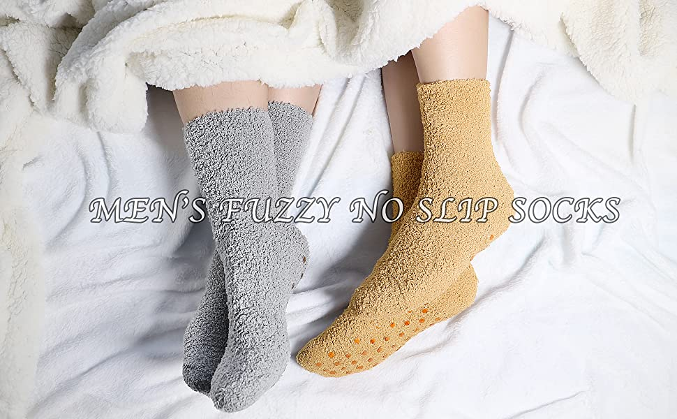 Men Fuzzy Floor Socks