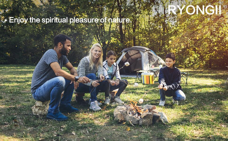 Enjoy the spiritual pleasure of nature.