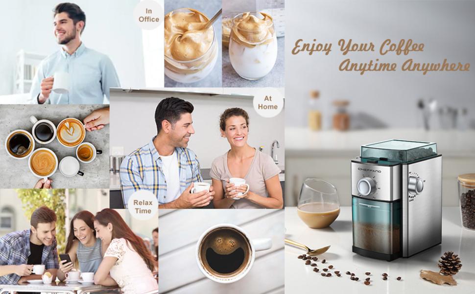 flat burr coffee grinder