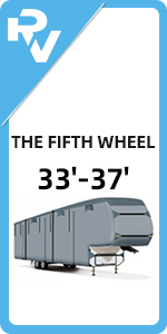 33'-37' The Fifth Wheel RV Cover