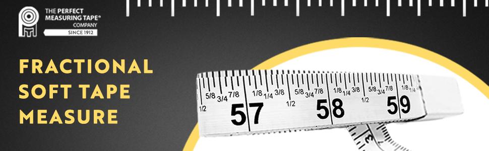 fractional soft tape measure