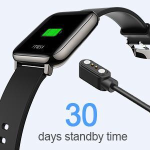 Smart watch fitness tracker fitbit apple watch huawei xiaomi smart watch for men activity track