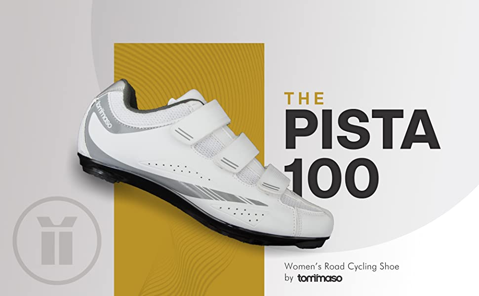 Tommaso Pista 100 Womenamp;amp;#39;s Cycling Shoes bike shoes women's indoor cycling road
