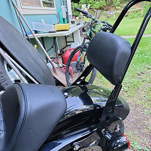 Sportster Passenger Backrest Pad