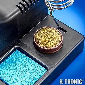 X-Tronic 3020 Brass Sponge amp; Wet Sponge Close Up