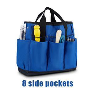 8 side pockets