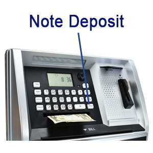 Deposit Paper Money