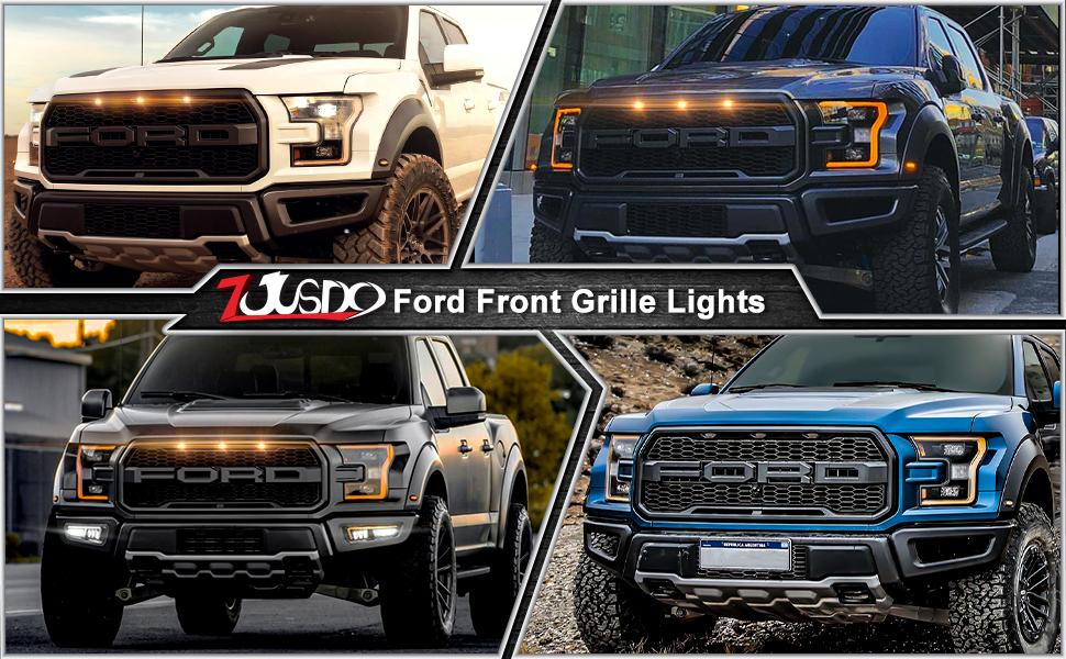 Ford Raptor Grille Light