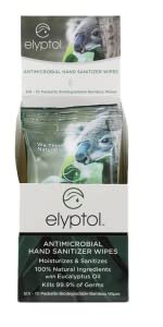 10 count 6 pack box of Elyptol sanitizer Wipes