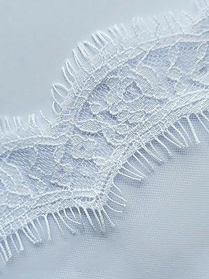 Lace edge details