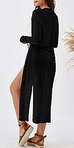 black cardigans  summer women top