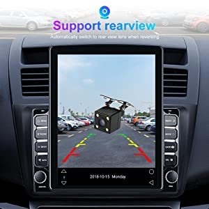 car radio with bluetooth and backup camera